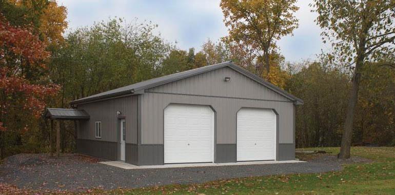 Pole Barns Metal Buildings Garage Construction